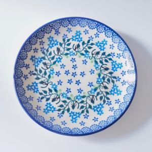 プレート 20cm ポーリッシュポタリー Ceramika Artystyczna ツェラミカ アルティスティチナ セラミカ|maison-fleurie
