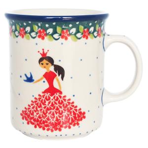 マグカップ マグ 300 ml ポーリッシュポタリー セラミカ ツェラミカ アルティスティチナ カップ|maison-fleurie