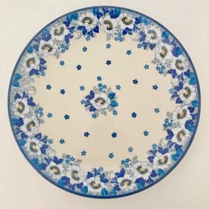 プレート 24cm ポーリッシュポタリー ツェラミカ  アルティスティチナ カフェ 陶器 皿 食器 耐熱  おしゃれ かわいい 可愛い 花柄 プレゼント|maison-fleurie