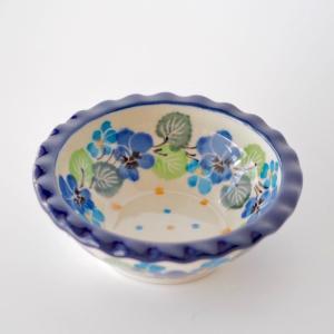 ミニフリルボウル ポーリッシュポタリー Ceramika Artystyczna ツェラミカ アルティスティチナ セラミカ ボウル maison-fleurie