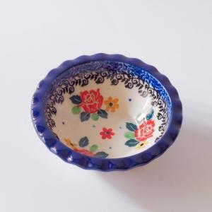 ミニフリルボウル ポーリッシュポタリー Ceramika Artystyczna ツェラミカ アルティスティチナ セラミカ ボウル|maison-fleurie