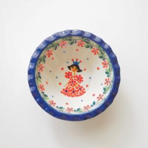 ミニフリルボウル ポーリッシュポタリー Ceramika Artystyczna ツェラミカ アルティスティチナ ボウル maison-fleurie