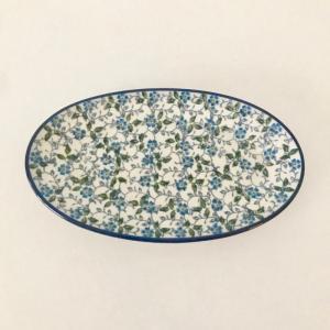 オーバルプレート ポーリッシュポタリー セラミカ Ceramika Artystyczna ツェラミカ アルティスティチナ  プレート|maison-fleurie