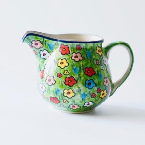 ピッチャー ( 0.3L ) U4878-U5 ポーリッシュポタリー Ceramika Artystyczna ツェラミカ アルティスティチナ|maison-fleurie