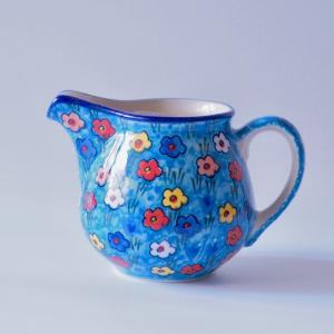 ピッチャー ( 0.3L ) U4922-U5 ポーリッシュポタリー Ceramika Artystyczna ツェラミカ アルティスティチナ|maison-fleurie