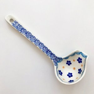 ソースレードル ポーリッシュポタリー Ceramika Artystyczna ツェラミカ アルティスティチナ レードル 陶器|maison-fleurie