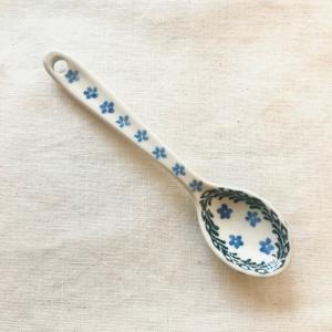 スプーン ポーリッシュポタリー Ceramika Artystyczna ツェラミカ アルティスティチナ ティースプーン|maison-fleurie