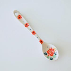 スプーン ポーリッシュポタリー Ceramika Artystyczna ツェラミカ アルティスティチナ セラミカ ティースプーン|maison-fleurie