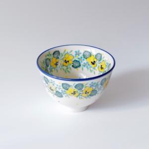 お茶碗 ご飯茶碗 飯碗 小 10cm ポーリッシュポタリー ツェラミカ アルティスティチナ セラミカ ご飯茶碗 飯碗|maison-fleurie