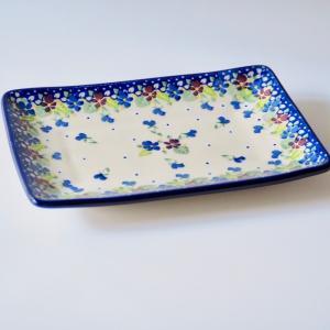プレート ポワソン大 ポーリッシュポタリー Ceramika Artystyczna セラミカ ツェラミカ アルティスティチナ|maison-fleurie