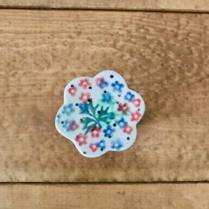 箸置き ポーリッシュポタリー ツェラミカ アルティスティチナ 陶器 はしおき カトラリーレスト カフェ おしゃれ かわいい 花柄 プレゼント|maison-fleurie