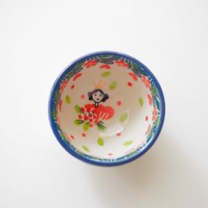 プチボウル ポーリッシュポタリー  ツェラミカ  アルティスティチナ カフェ 陶器 食器 耐熱 ボウル 小鉢 豆皿|maison-fleurie