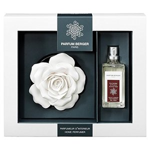 ☆☆☆PARFUM PARFUM☆☆ 陶器製のバラのオブジェに香りを吹きかけて芳香を楽しみ香りのオブ...