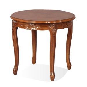 フィオーレ ラウンドテーブル ブラウン|maisondumarche