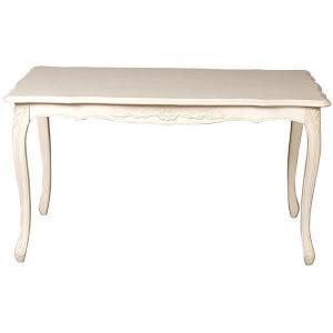 フィオーレ ダイニングテーブル ホワイト 155cm|maisondumarche