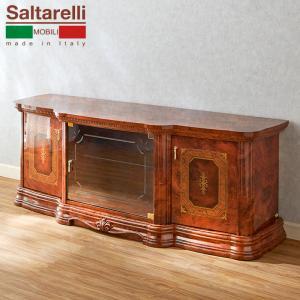 【送料無料】サルタレッリ/アマルフィ/テレビボード幅160cm/ウォールナット|maisondumarche