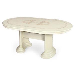 【送料無料】サルタレッリ フローレンス /ダイニングテーブル/幅175cm/ アイボリー maisondumarche
