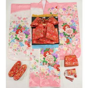 女の子7歳着物20点セット 正絹asaf02                                                                                                                             七五三・お正月・卒園式・結婚式などの機会に!