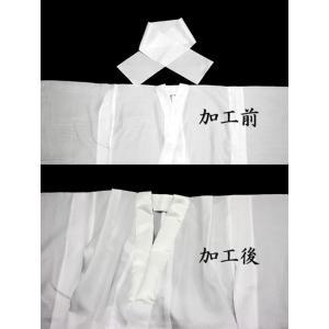 男の子着物半衿付け加工 maisugata