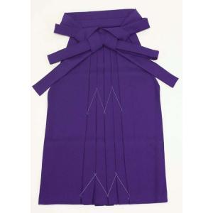 7歳女児袴[紫]無地 maisugata
