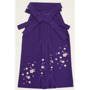 7歳女児袴[紫]刺繍入り maisugata