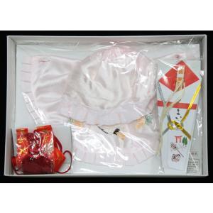 女の子お宮参りフード4点セット刺繍入りhud04|maisugata