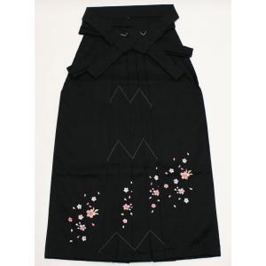 女性袴Lサイズ[黒]刺繍入り|maisugata