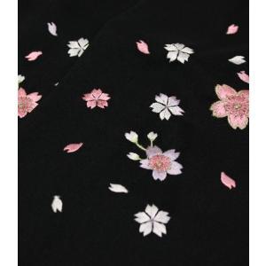 女性袴Lサイズ[黒]刺繍入り|maisugata|03
