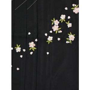 女性袴Lサイズ[黒]刺繍入り|maisugata|02