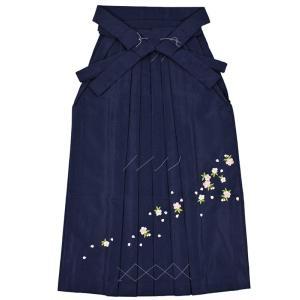 女性袴Lサイズ[紺]刺繍入り maisugata