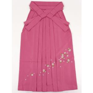 女性袴Lサイズ[ピンク]刺繍入り maisugata