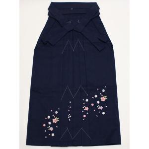 女性袴Sサイズ[紺]刺繍入り maisugata