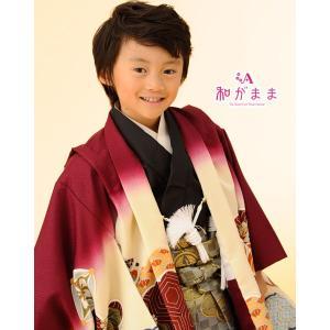 男の子5歳着物袴13点セット 和がままk502|maisugata