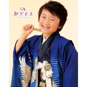 男の子5歳着物袴13点セット 和がままk505|maisugata