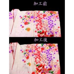 女の子着物肩あげ加工(3歳用)|maisugata