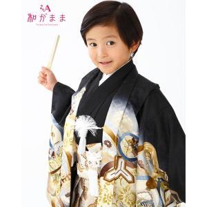 男の子5歳着物袴13点セット 和がままL503|maisugata