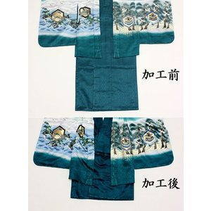 男の子着物身あげ加工(3歳用) maisugata