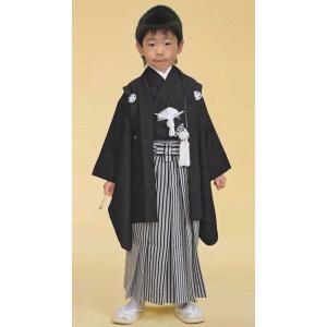 男の子3歳着物袴11点セット合繊(家紋入れ込み)|maisugata