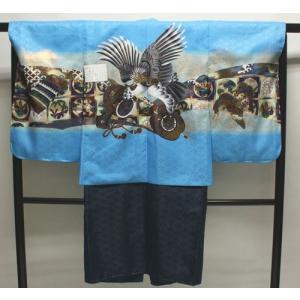 男の子5歳着物袴11点セットnaga09|maisugata