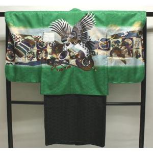 男の子5歳着物袴11点セットnaga10|maisugata