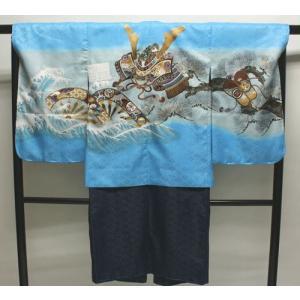 男の子5歳着物袴11点セットnaga17|maisugata