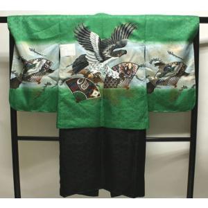 男の子5歳着物袴11点セットnaga20|maisugata