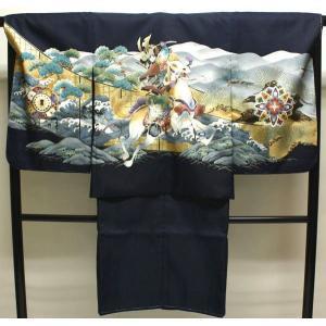 男の子5歳着物袴11点セットnik15|maisugata