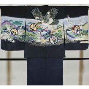 男の子5歳着物袴11点セットnisi01|maisugata
