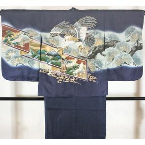 男の子5歳着物袴11点セットnisi03|maisugata