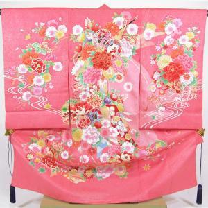 女の子お宮参り着物sagu11 ピンク maisugata