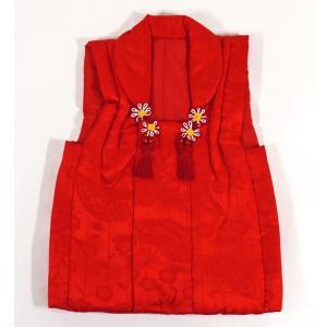 女の子3歳被布コート 正絹shi35|maisugata
