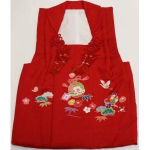 女の子3歳被布コート 正絹shi42|maisugata