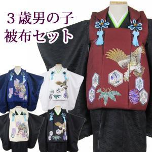 男の子3歳着物被布5点セットsok maisugata