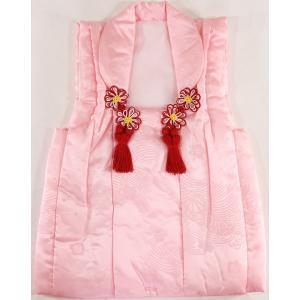 女の子3歳被布コート 正絹Sサイズsshi06|maisugata